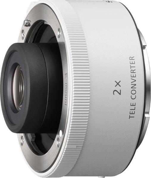 Sony compact 2x Teleconverter: model SEL20TC