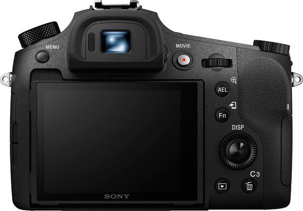 Sony RX10 III Back View