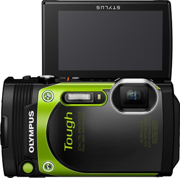 Olympus Stylus Tough TG-870, green
