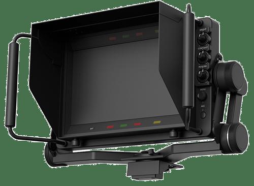 Panasonic's 9-inch, Full-HD LCD viewfinder: AK-HVF100