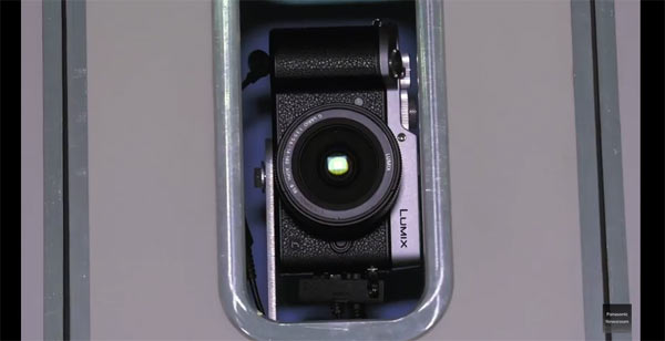 The 3D Scanning Booth uses the Panasonic LUMIX GX8 camera: Image grab from video below
