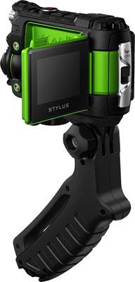 Olympus Stylus Tough TG-Tracker, green: The bundled SG-T01 Steady Grip