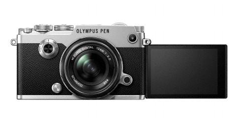 Olympus PEN-F, silver