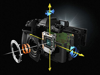 5-axis Image Stabilization image
