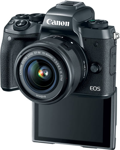 Canon EOS M5 with EF-M 15-45mm/F3.5-6.3 IS STM lens