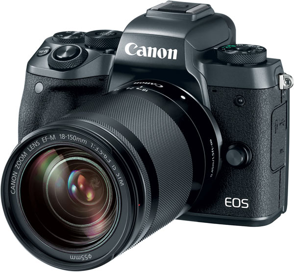 Canon EOS M5 with EF-M 18-150mm f/3.5-6.3 IS STM lens kit