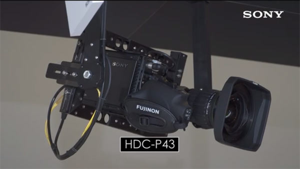 Sony HDC-P43 4K with Fujinon lens: Image grab from video below