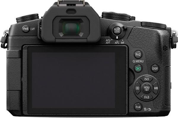 Panasonic LUMIX DMC-G85 Back View