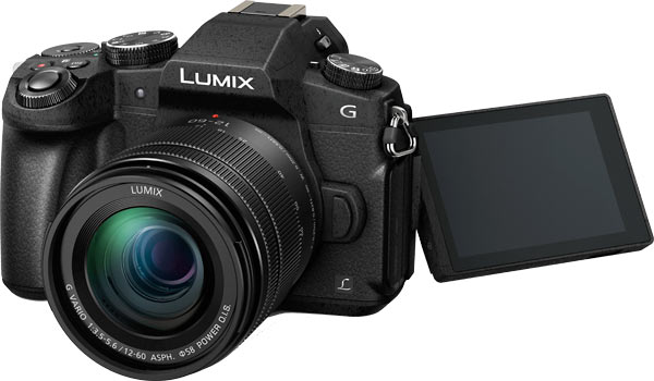 Panasonic LUMIX DMC-G85 Fully Articulated Touch LCD
