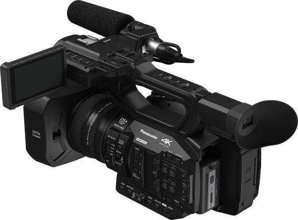 Panasonic UX Standard Model AG-UX90: The UX90 has a 0.24-type EVF, September