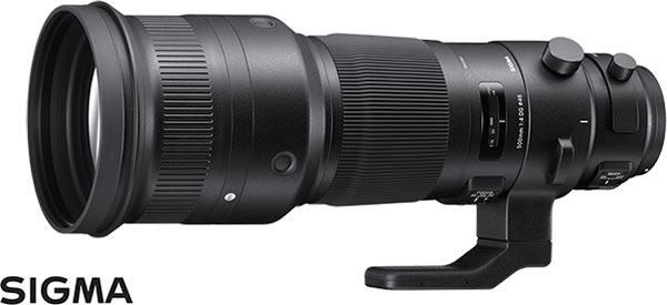 500mm F4 DG OS HSM Sport