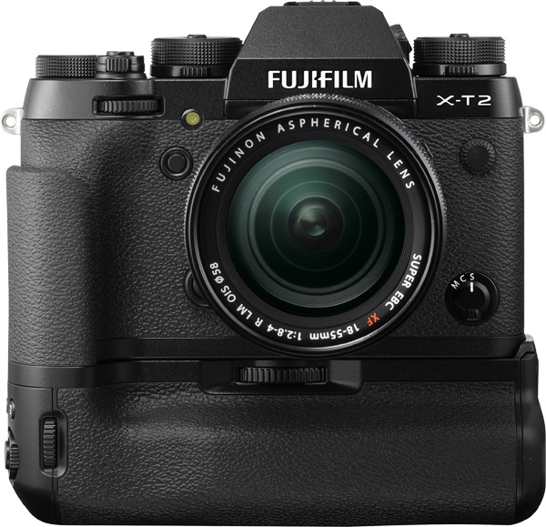 Fujifilm X-T2 with Vertical Power Booster Grip