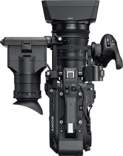 Sony FS7 II (top view)