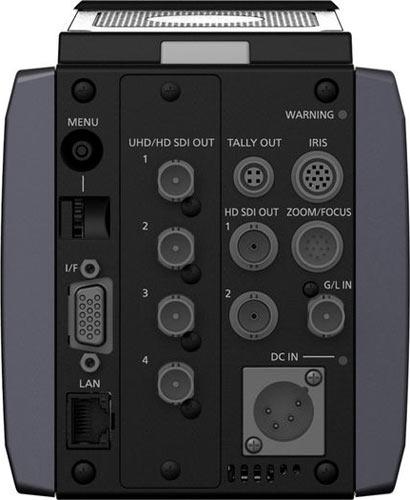 Panasonic AK-UB300 4K (back view)