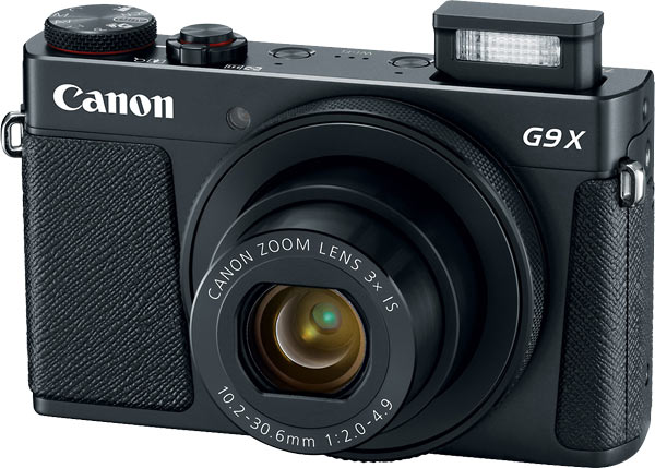 Canon PowerShot G9 X Mark II, black