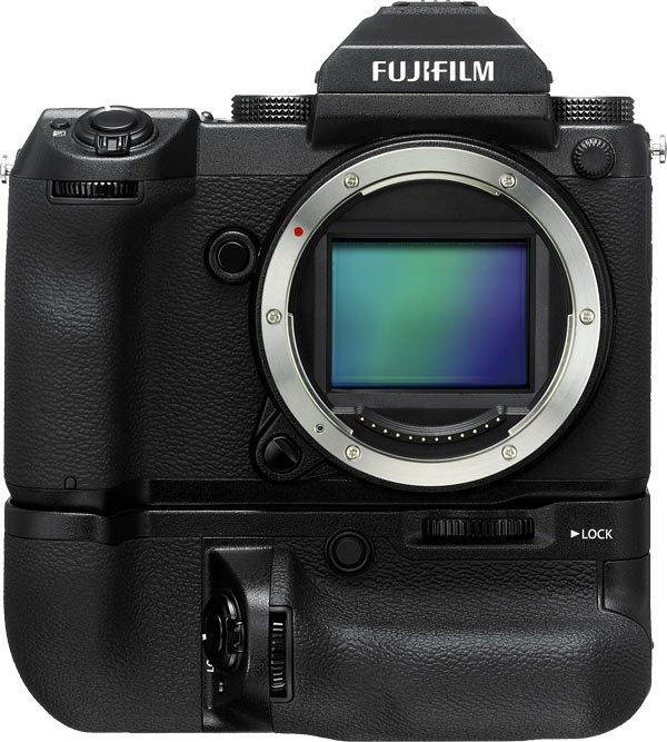 Fujifilm GFX 50S with optional Vertical Grip