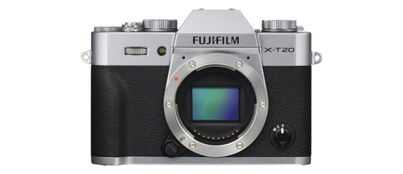 FUJIFILM X-T20 (Silver)