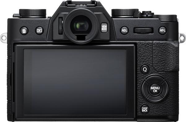 FUJIFILM X-T20 (Black) back view
