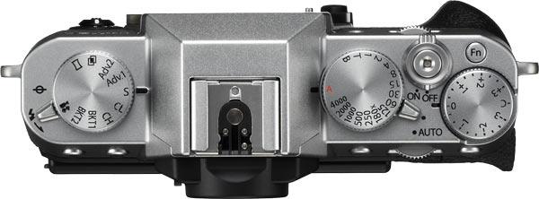 FUJIFILM X-T20 (Silver) top view