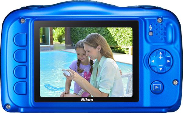 Nikon COOLPIX W100, blue