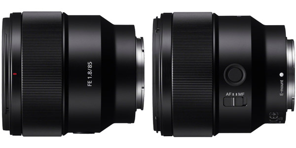 Sony FE 85mm F1.8 (SEL85F18) Mid-Telephoto Prime Lens