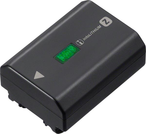 Sony battery (model NP-FZ100)