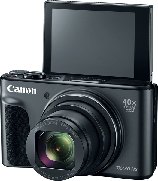 Canon PowerShot SX730 HS, black color