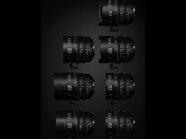Sigma is at NAB in Vegas this week showcasing the Sigma Cine lenses