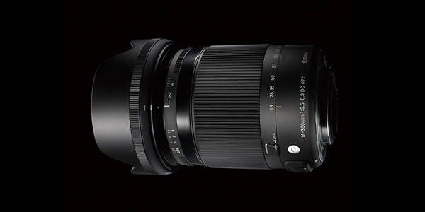 SIGMA 18-300mm F3.5-6.3 DC MACRO OS HSM | Contemporary