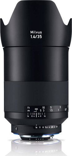 Zeiss Milvus 35mm f/1.4 ZF.2 Lens for Nikon F