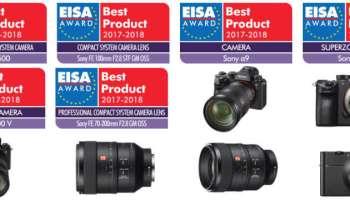 The Prestigious EISA Awards 2017-2018: Sony A9 Is Camera of