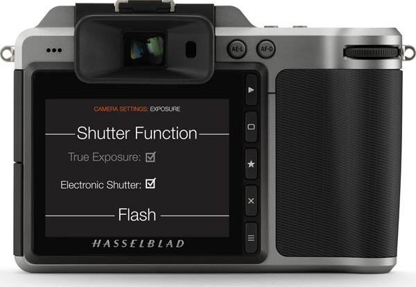 Hasselblad X1D-50c Firmware Update 1.17.2: Electronic Shutter