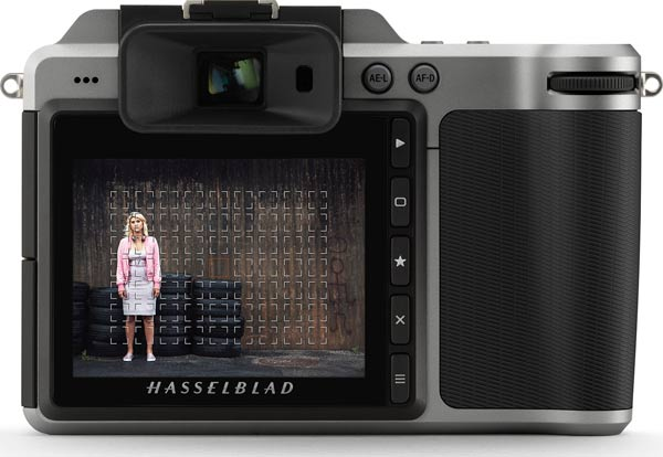 Hasselblad X1D-50c Firmware Update 1.17.2: Re-sizeable AF points