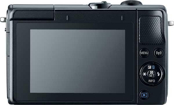 Canon EOS M100, black