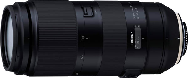 Tamron 100-400mm F4.5-6.3 Di VC USD (Model A035)