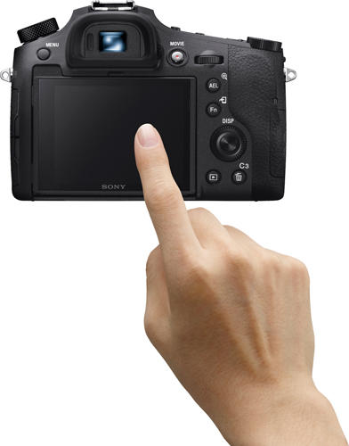 Sony RX10 IV: Touch Focus and Touch Pad function