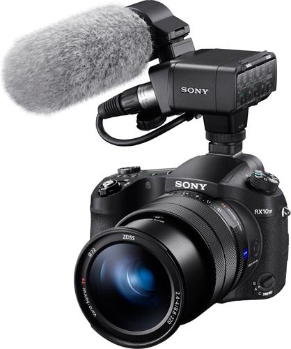 Sony RX10 IV: External microphone