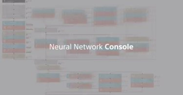 Sony's Neural Network Console