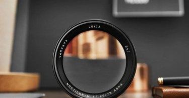 Leica Noctilux-M 75 mm f/1.25 ASPH.