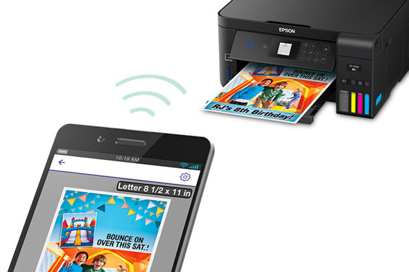 Epson Expression ET-2750 EcoTank All-in-One Supertank Printer: Mobile Printing
