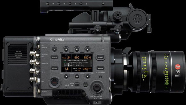 Sony VENICE with AXS-R7 RAW recorder