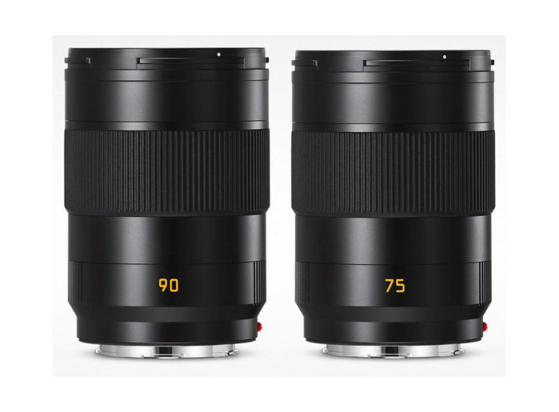 Leica APO-Summicron-SL 90 mm f/2 ASPH., APO-Summicron-SL 75 mm f/2 ASPH.