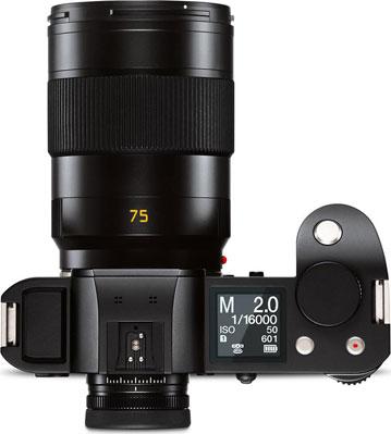 Leica SL (Typ 601) with Leica APO-Summicron-SL 75 mm f/2 ASPH.