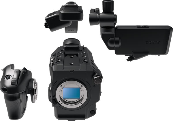 Sony FS5 II:: Lightweight, modular and robust