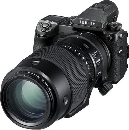 FUJIFILM GFX 50S with FUJINON GF250mmF4 R LM OIS WR Lens