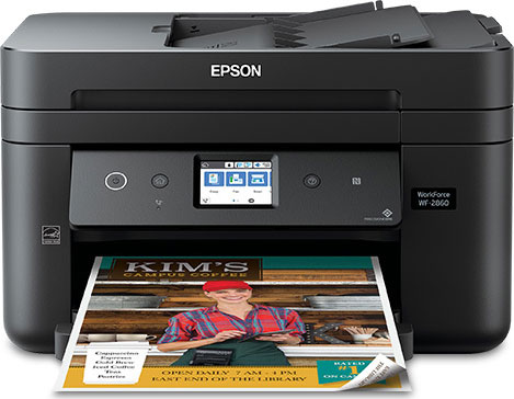 Epson WorkForce Pro WF-2860 All-In-One Printer