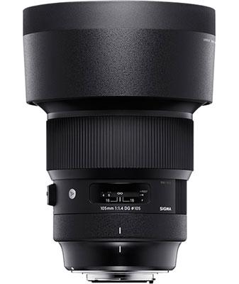 SIGMA 105mm F1.4 DG HSM | Art with Lens Hood (LH1113-01)