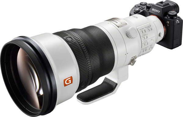 Sony FE 400mm F2.8 GM OSS and α9 (ILCE-9) camera