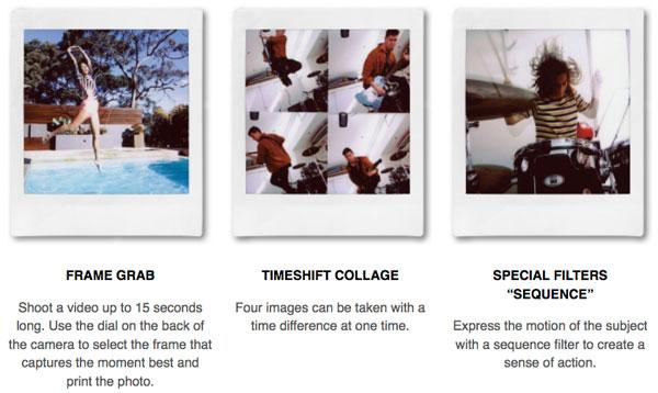 Fujifilm instax SQUARE SQ20: Images Courtesy of Fujifilm