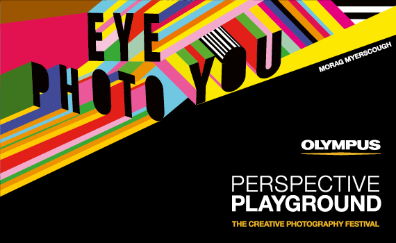 Olympus Perspective Playground at photokina 2018. Creative photography festival with interactive artwork by Morag Myerscough and Luke Morgan